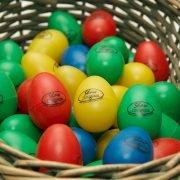 Egg Shakers in Basket
