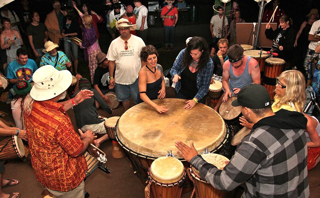 Gathering Drum Hillside Festival