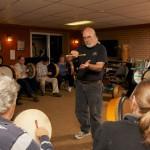 Phil Shaw Teaching Basic Bodhran technique