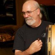 Phil Shaw Playing Bodhran