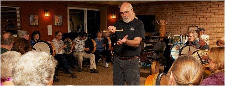 Phil Shaw Bodhran Workshop