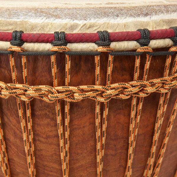 Ivory Coast Djembe Rope detail