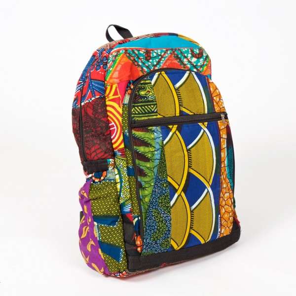 Colourful African Backpack