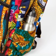 African Backpack Detail