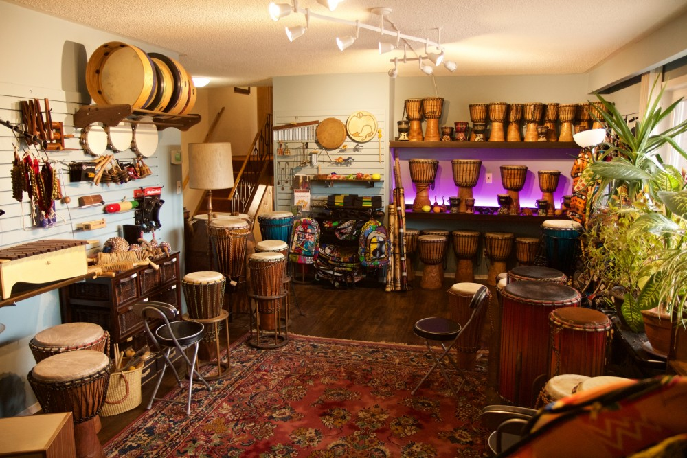 Shaw Percussion Interior Store 1