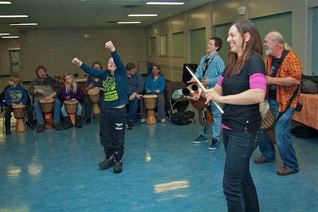 Community Drum circle (2)