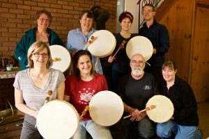 Hoop Drum Workshop Group