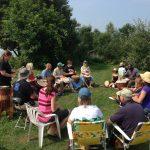Random Drumming_Event Garlic Harvest