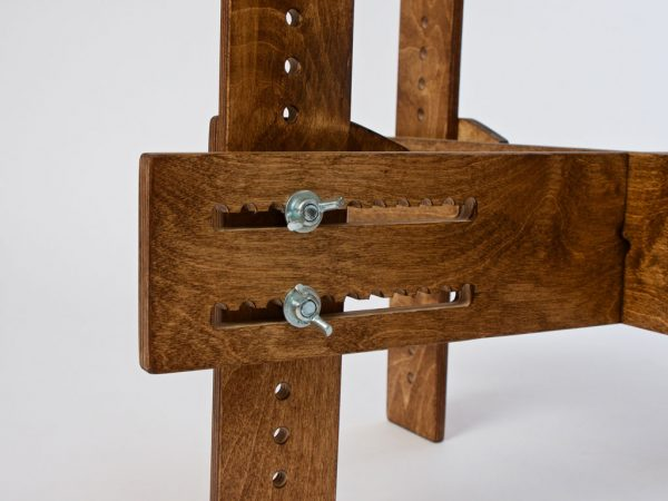 Adjustable Dundun-Stand detail