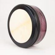 Purple 16 Inch Bodhran Black Trim1