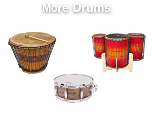 More Drums