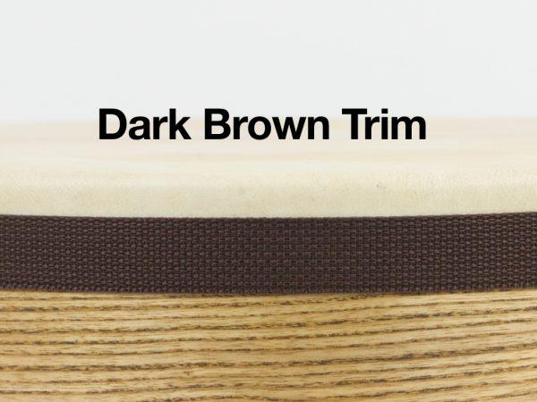 Tar Dark Brown Trim